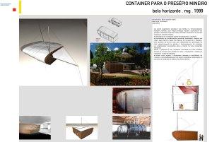 1999 - Container para o Presépio Mineiro