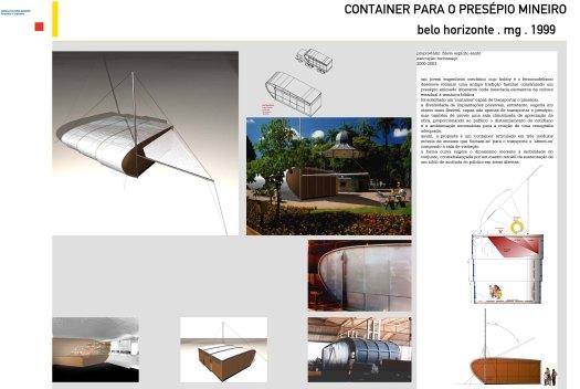 Container para o Presépio Mineiro