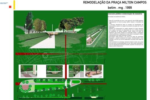 Remodelação da Praça Milton Campos