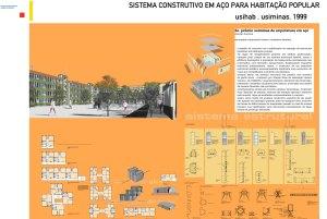 1999 - Sistema construtivo em aço para habitação popular