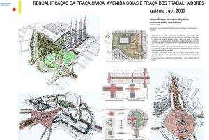 1999 - Requalificação da Praça Civica, Avenida Goiás e Praça dos Trabalhadores