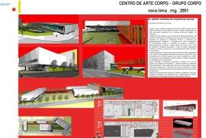 2001 - Centro de Arte Corpo - Grupo Corpo