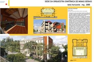 2005 - Sede da Orquestra Sinfônica de Minas Gerais