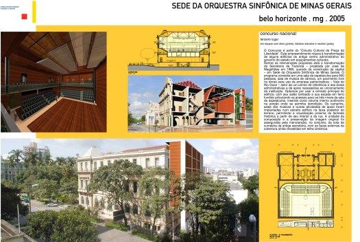 Sede da Orquestra Sinfônica de Minas Gerais
