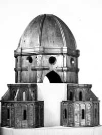 Maquete original de Brunelleschi.