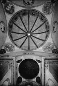 Vista interna da cúpula