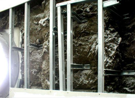 Camadas constituintes das paredes externas da Fundação Iberê Camargo
